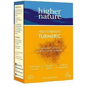 Higher Nature Turmeric Vegan 60 Capsules