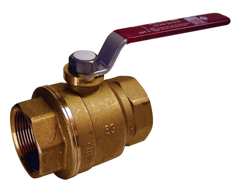 Mueller Threaded No Lead Full Port Ball Valve - 3/4""