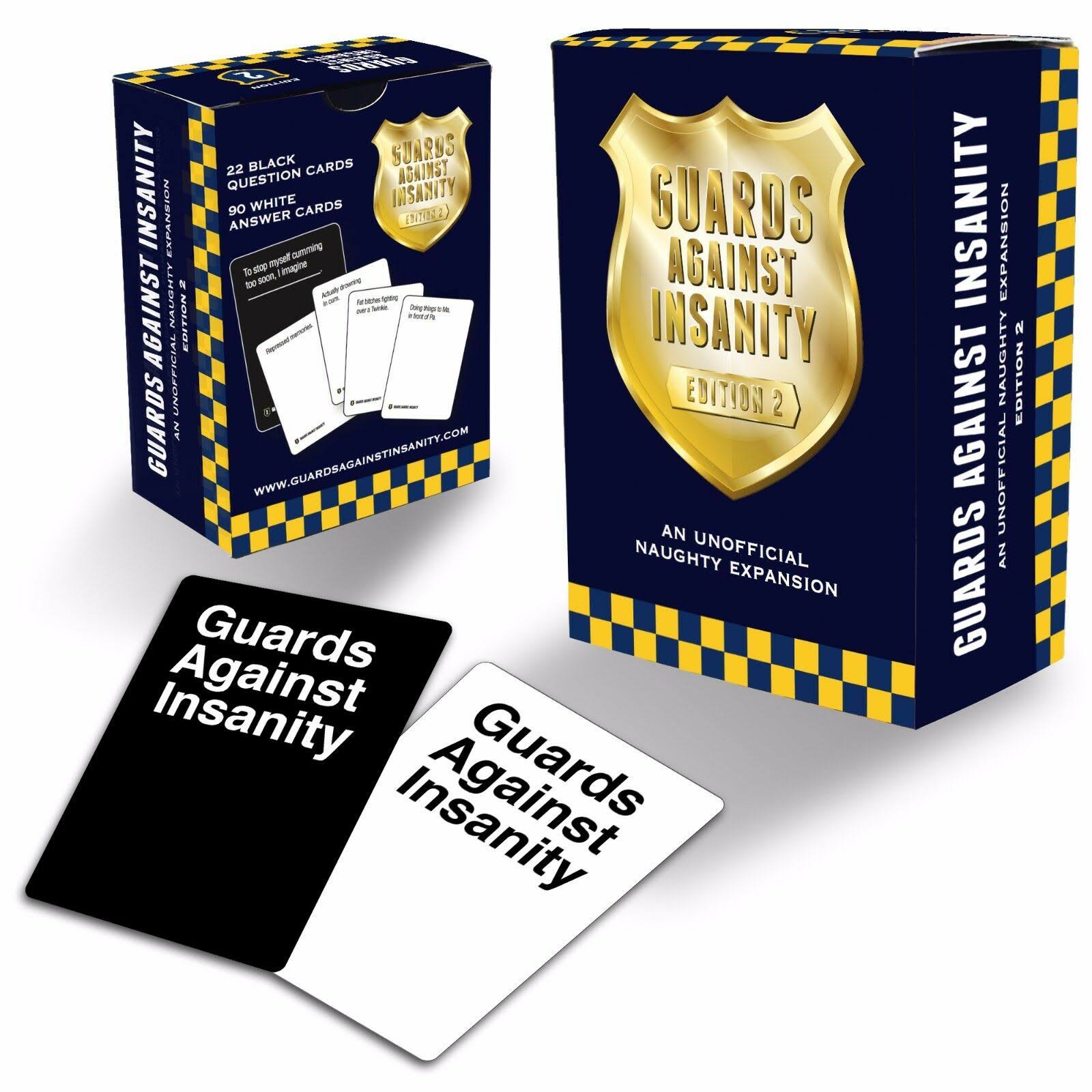 Guards Against Insanity Edition 2: An Unofficial Naughty Expansion Pack