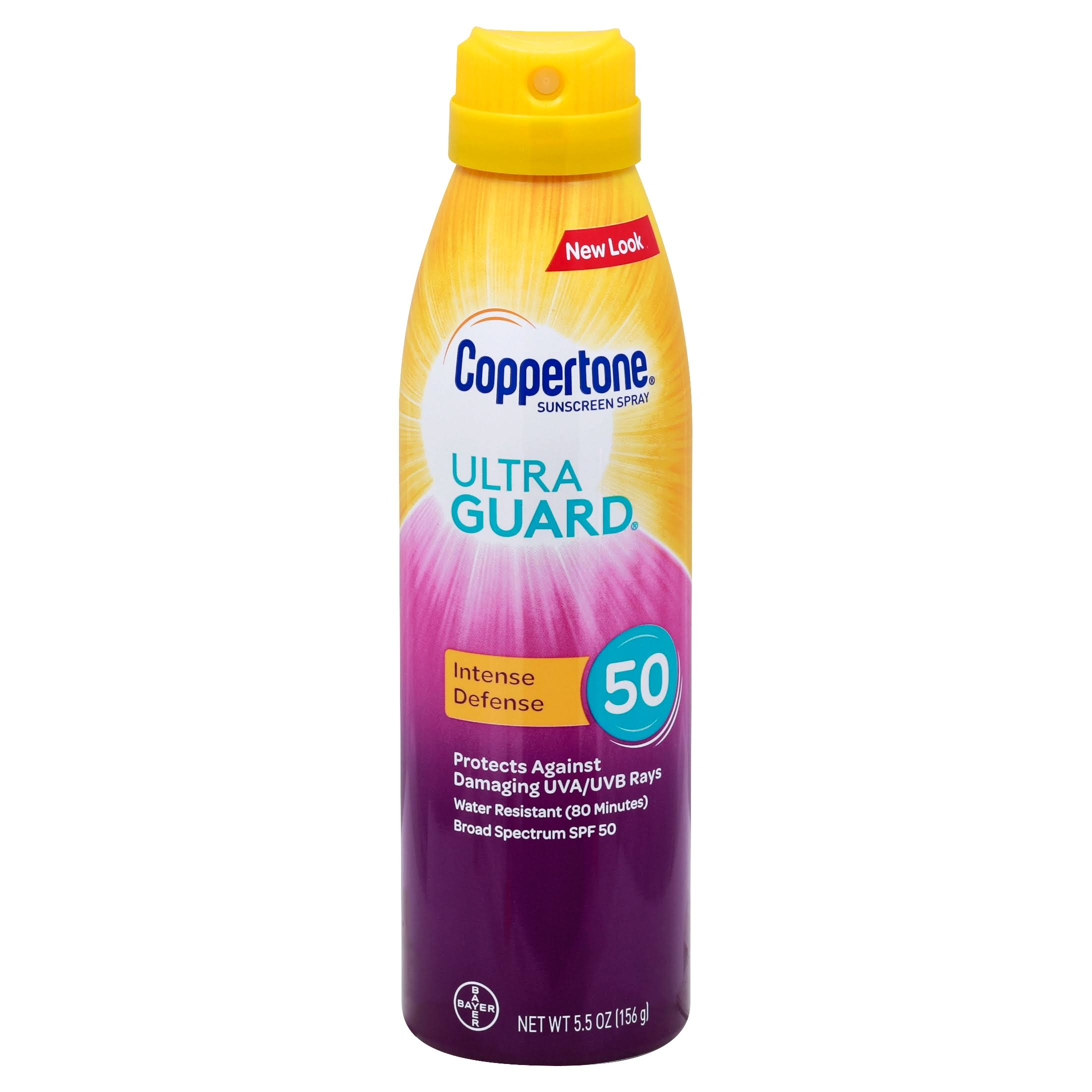 Coppertone Ultra Guard SPF 50 Sunscreen Spray - 5.5oz