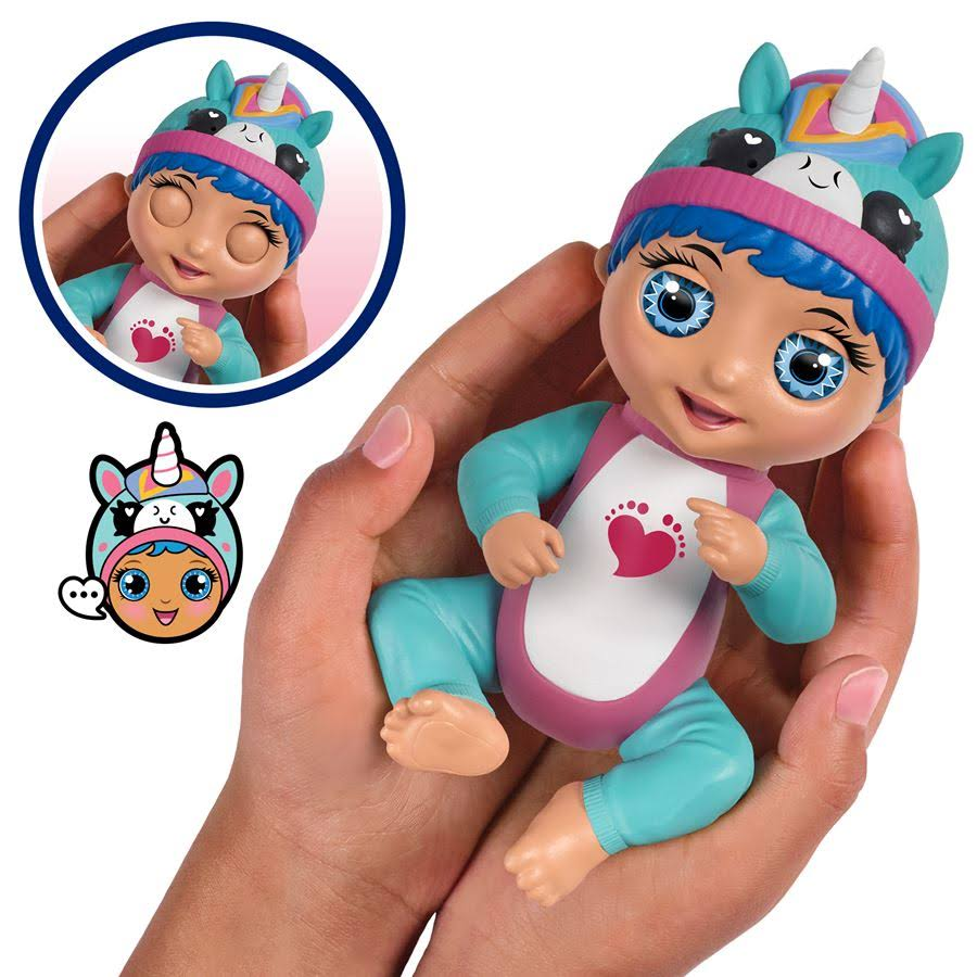 Tiny Toes Laughing Luna Doll Toy - Unicorn