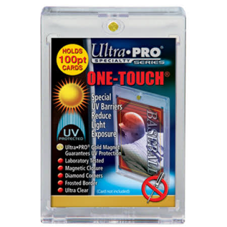 Ultra Pro One Touch UV Card Holder with Magnet Closure