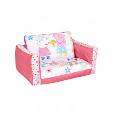 Mickey Mouse Flip Open Sofa Uk by Peppa Pig Flip Out Sofa Bedroom Girls Lounger Bed