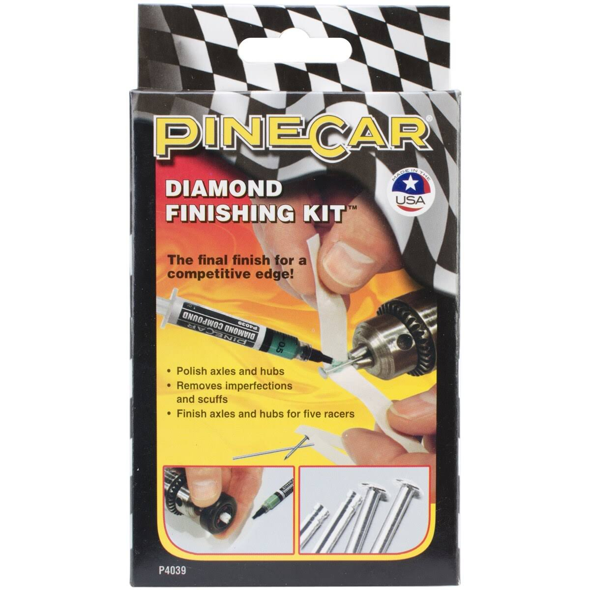 PineCar Derby Racers Diamond Finishing Kit