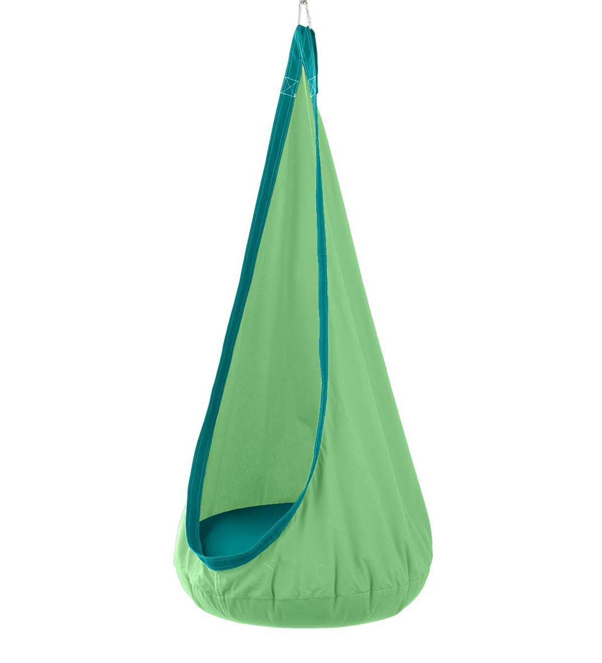HugglePod Deluxe Indoor / Outdoor Canvas Hanging Chair - Green