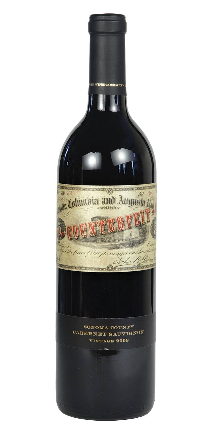 Banknote Counterfeit Cabernet Sauvignon, Sonoma County (Vintage Varies) - 750 ml bottle