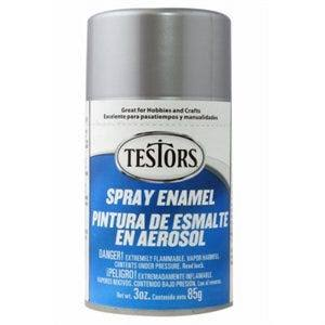 Testors Spray Enamel 3oz - Metallic Silver