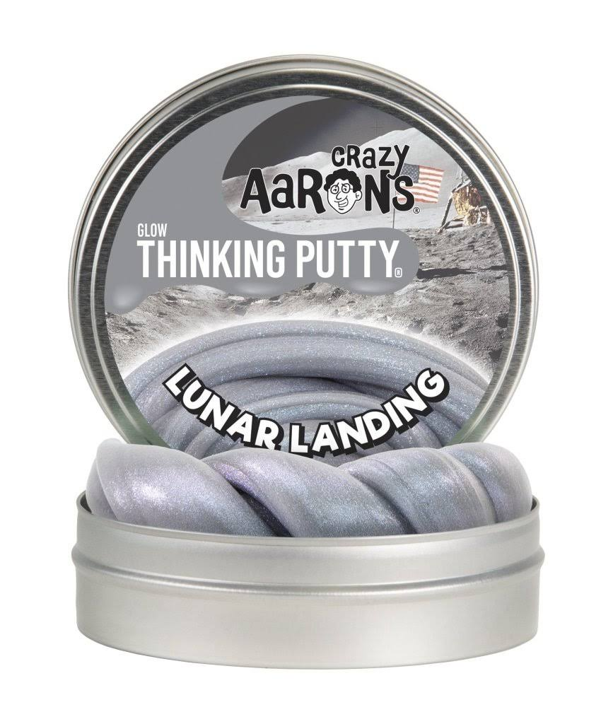 Crazy Aaron Lunar Landing | Glow Thinking Putty