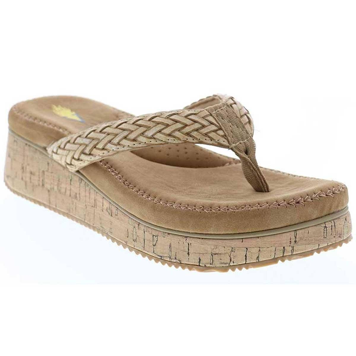 Volatile Gillian Natural Sandal