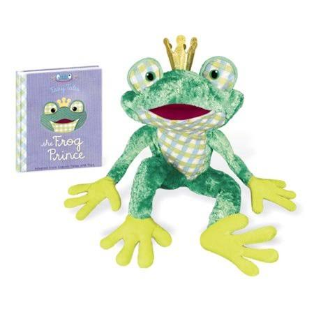 Yottoy Frog Prince with Book