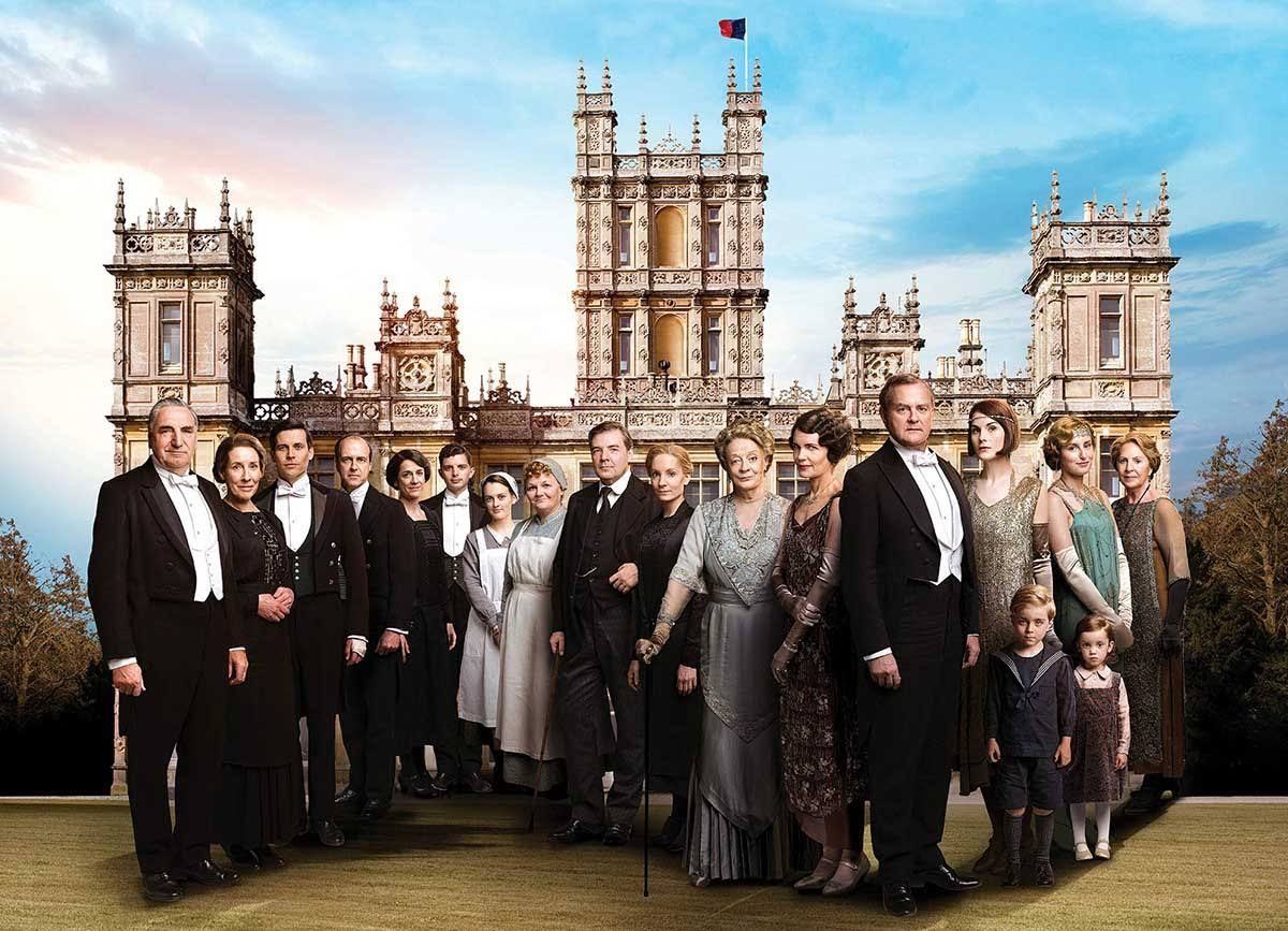 Willow Creek Press Downton Abbey 1000-Piece Puzzle