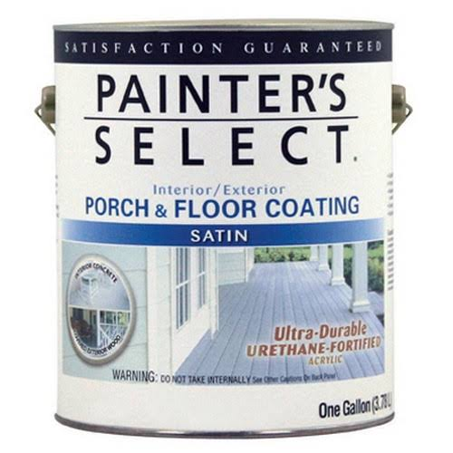 True Value MFG Usf10-gl Satin Porch and Floor Coating - 1Gal, Dark Gray