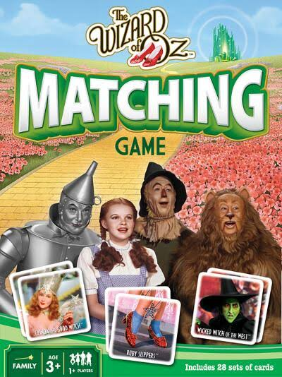 The Wizard of oz - Matching Game