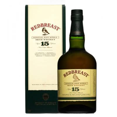 Redbreast Aged 15 Years Single Pot Still Irish Whiskey - 700ml