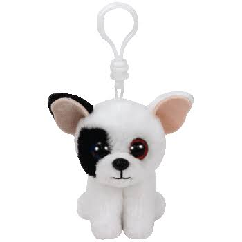 Ty Beanie Babies 36655 Marcel The Dog Key Clip
