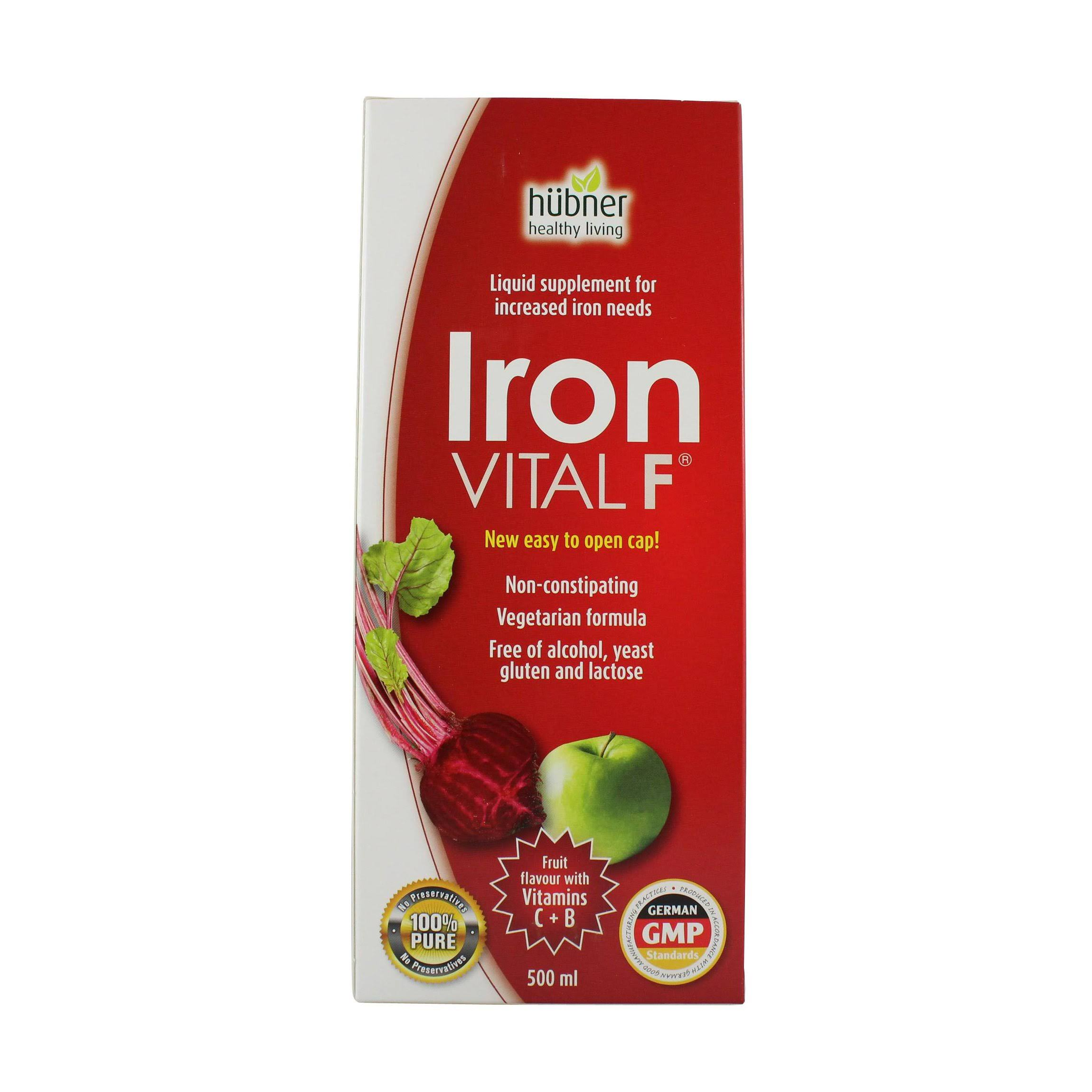 Hubner Iron Vital F Iron Supplement - 500ml