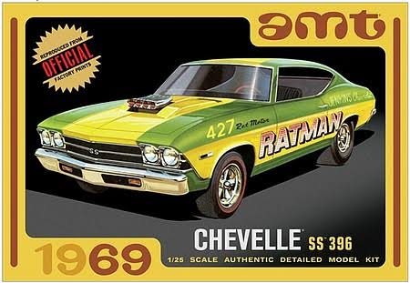 AMT AMT1138 1/25 1969 Chevy Chevelle Hardtop