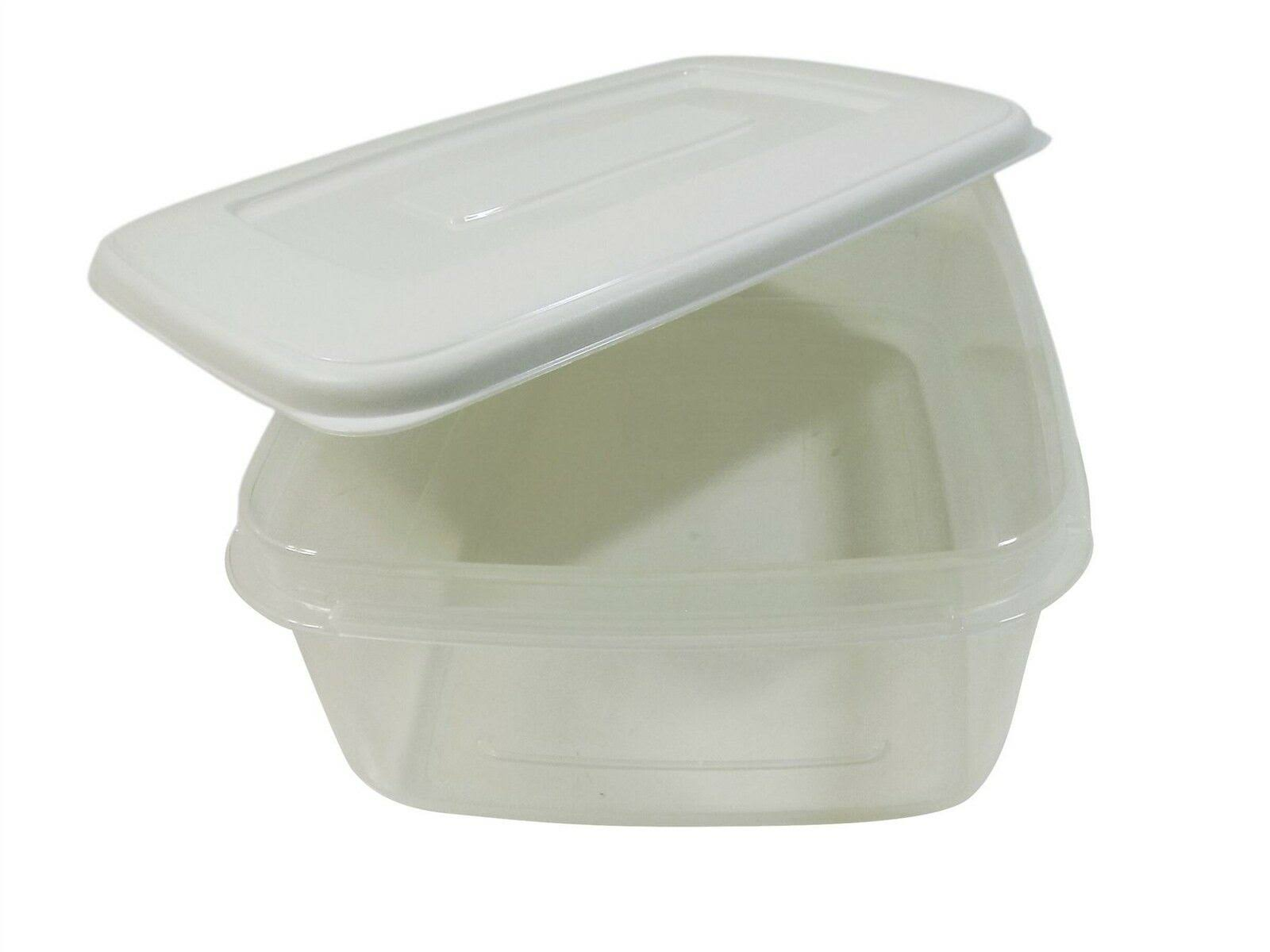Whitefurze Food Storage Box with White Lid