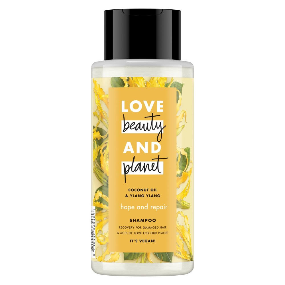 Love Beauty and Planet Hope and Repair Shampoo - Coconut Oil and Ylang Ylang, 400ml