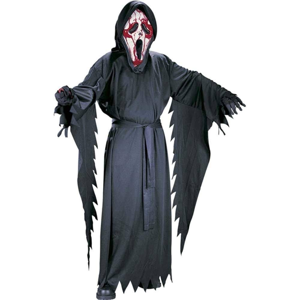 Fun World Bleeding Ghost Face Kids Costume - Large