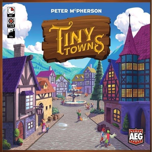 Alderac Entertainment Group Tiny Town Board Game