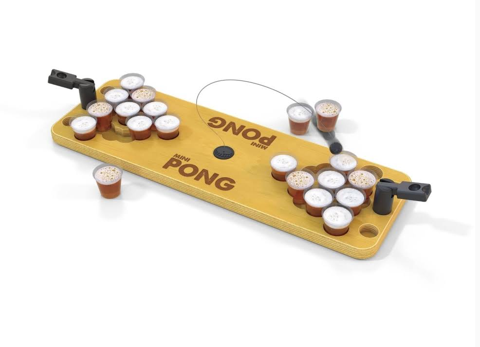 Mini Pong Bring the Party Anywhere Game