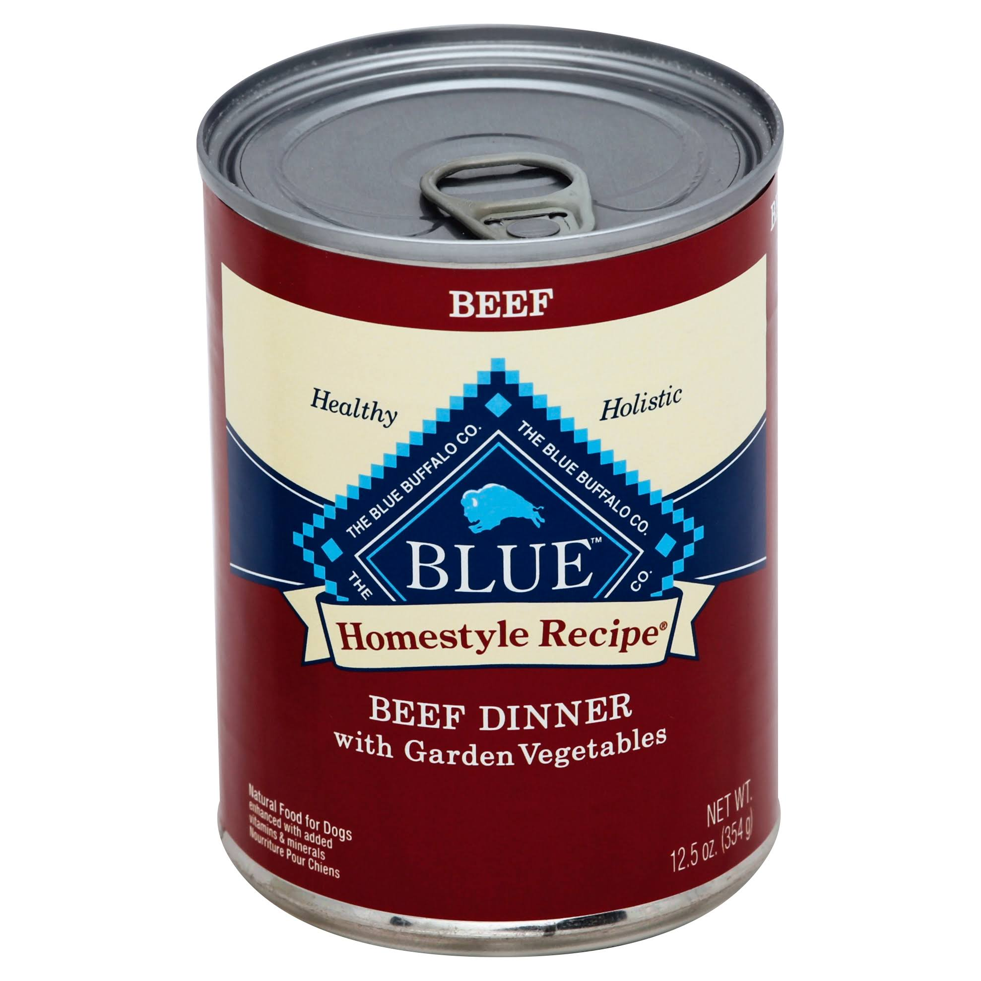 Blue Buffalo Homestyle Recipe Canned Dog Food - Beef Dinner, 12.5oz