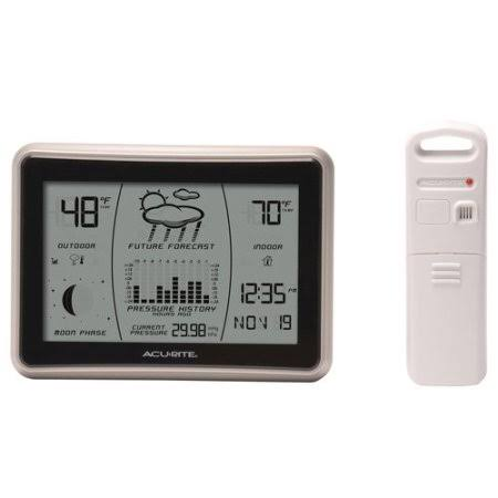 AcuRite 00621 Wireless Weather Forecaster - with Intelli-Time