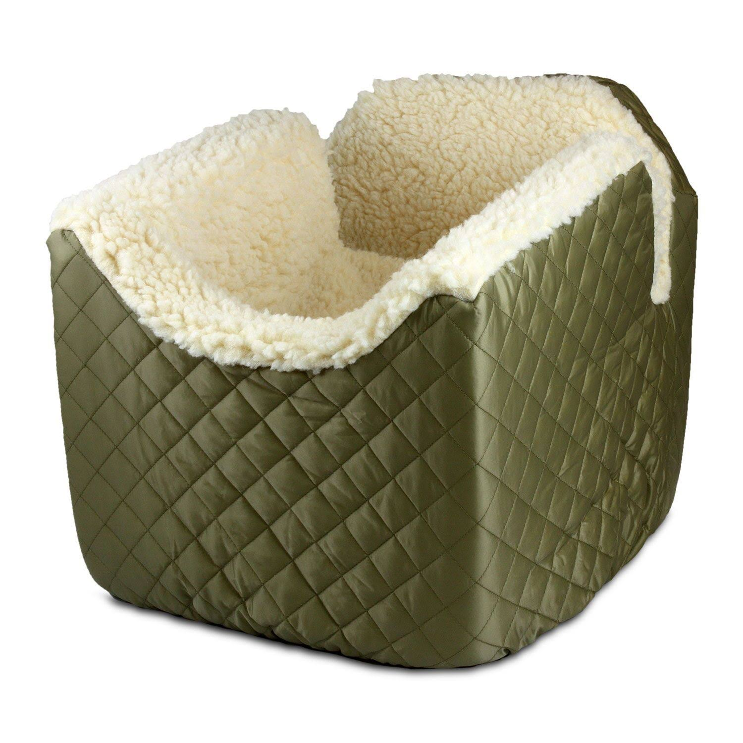 Snoozer Lookout I Pet Car Seat - Khaki, Small