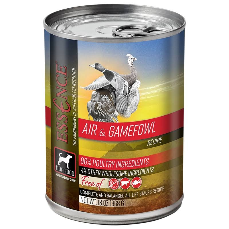 Essence Air & Gamefowl Canned Dog Food 13oz