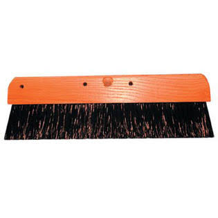 Concrete Finishing Brushes - Black Polypropylene, 36""