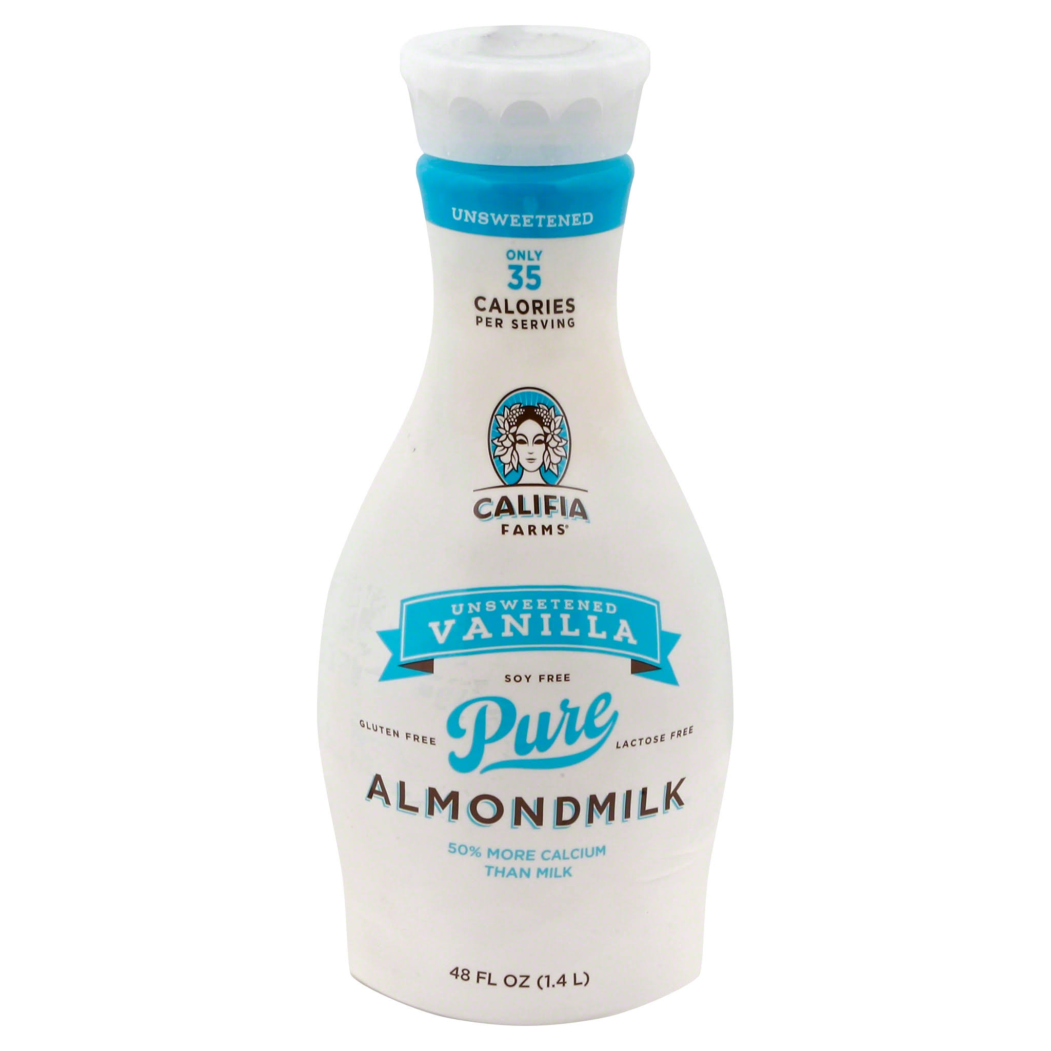 Califia Farms Almond Milk - Unsweetened Vanilla, 48oz
