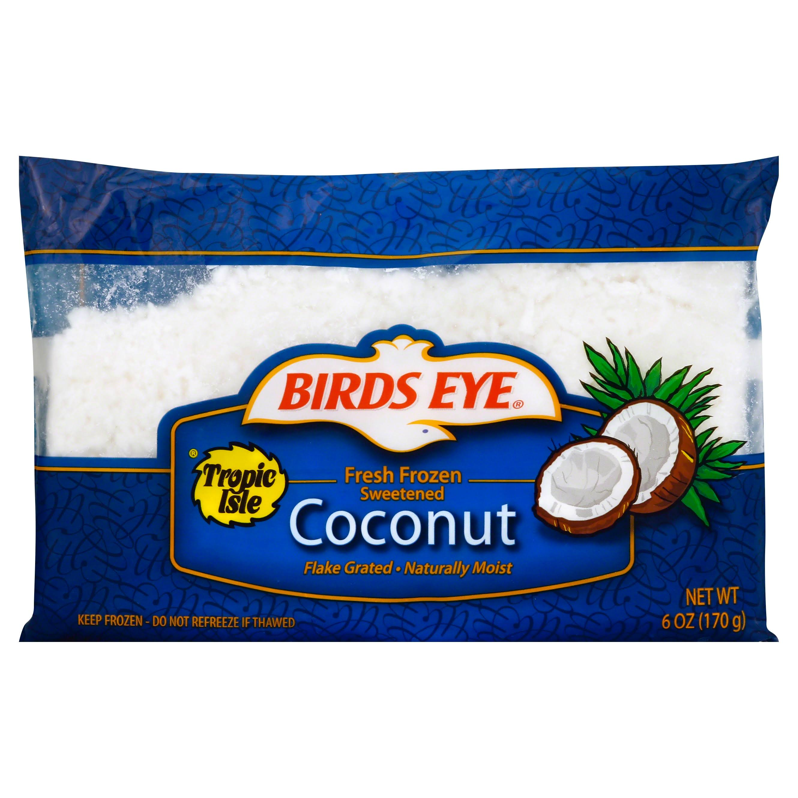 Birds Eye Tropic Isle Fresh Frozen Sweetened Coconut - 6oz