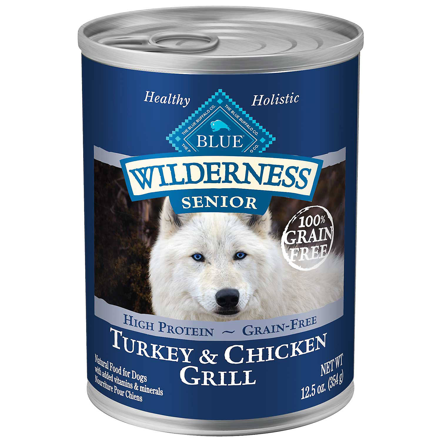Blue Buffalo Wilderness Senior Dog Food - Turkey & Chicken Grill