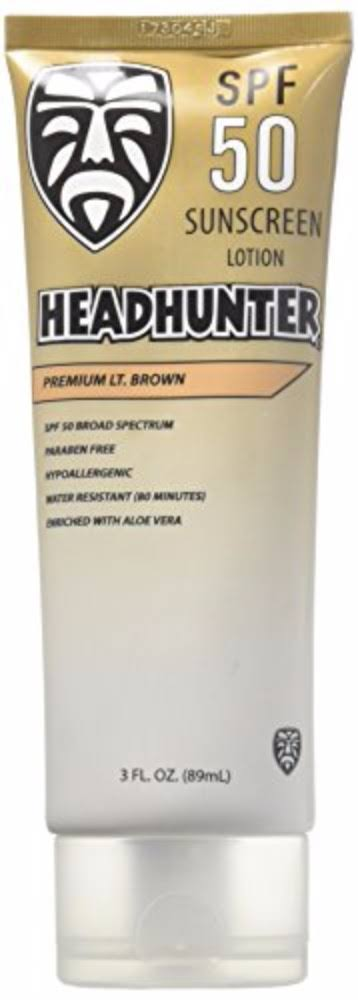 Headhunter Surf Sunscreen Lotiion - Spf 50, Light Brown, 3oz