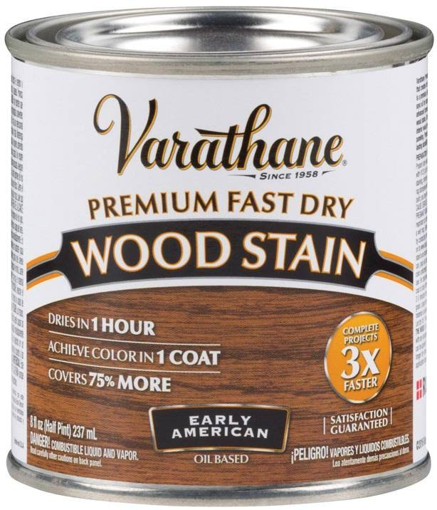 Varathane Fast Dry Early American Oil Wood Stain - 237ml