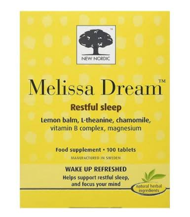 New Nordic Melissa Dream (100 Tablets)
