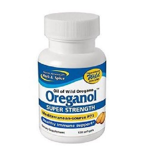 North American Herb Spice Oreganol Super Strength Gel Caps 120 ct