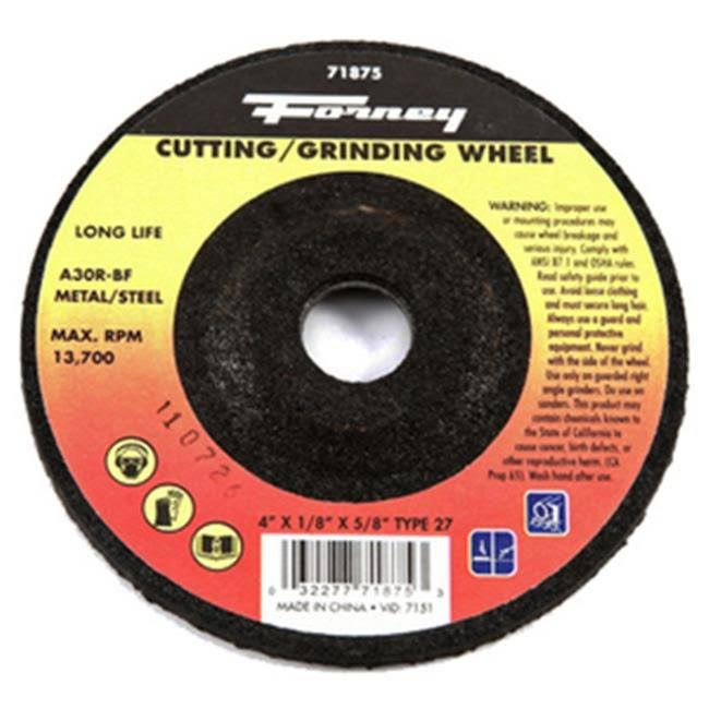"Forney 4"" Grinding Wheel 71875"