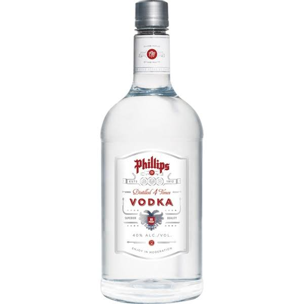 Phillips Vodka, 1.75 L, Size: 1.75 Large
