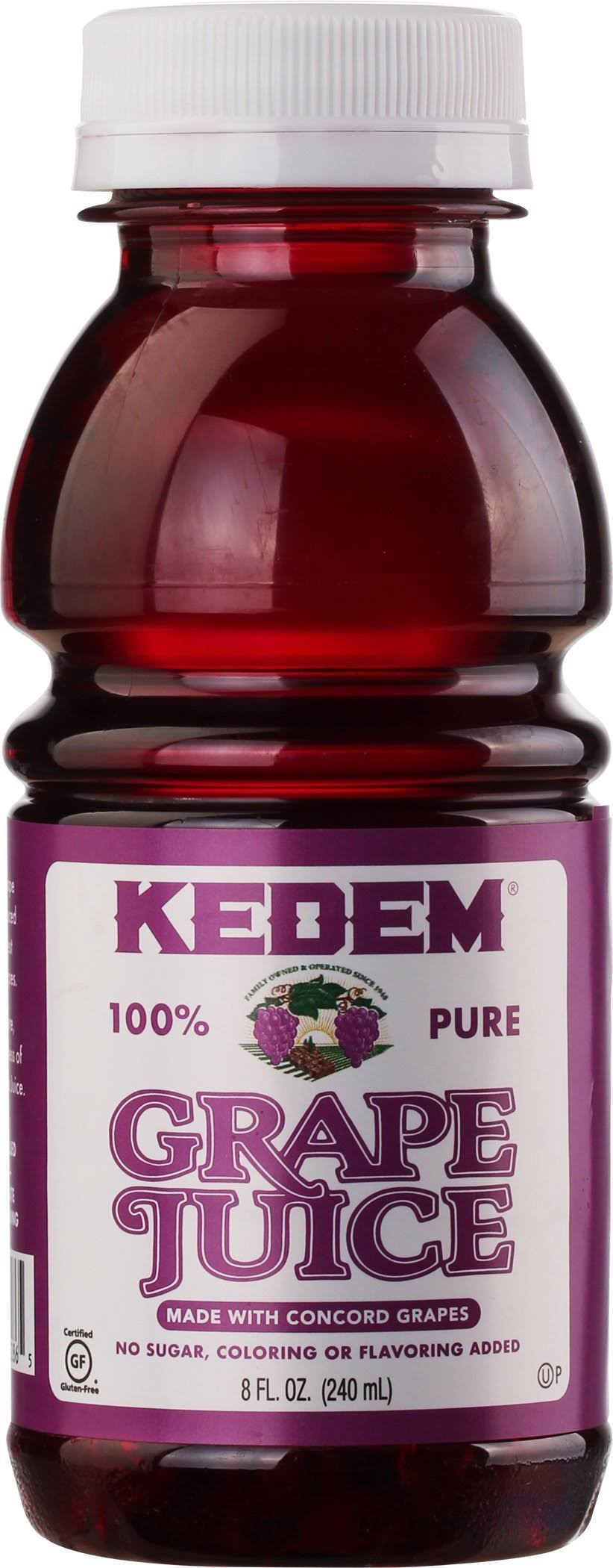Kedem Grape Juice, 100% Pure - 8 fl oz