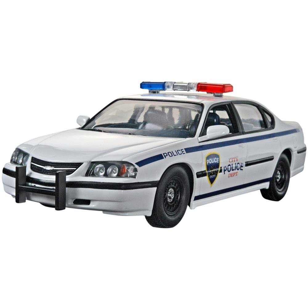 Revell Plastic Model Kit - Chevy Impala Police Car