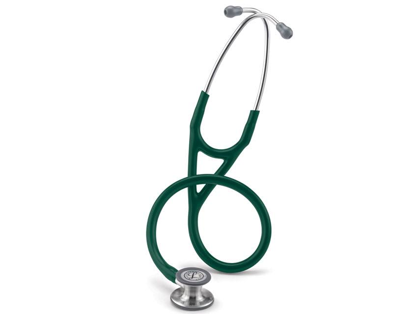 3M Littmann 6155 Cardiology IV Stethoscope - Hunter Green, 27""