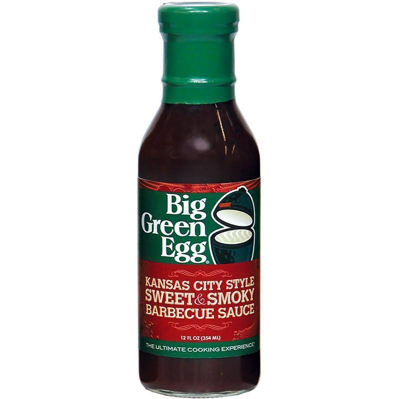 Big Green Egg Kansas City Style Smokehouse Style BBQ Sauce - 12 fl oz bottle