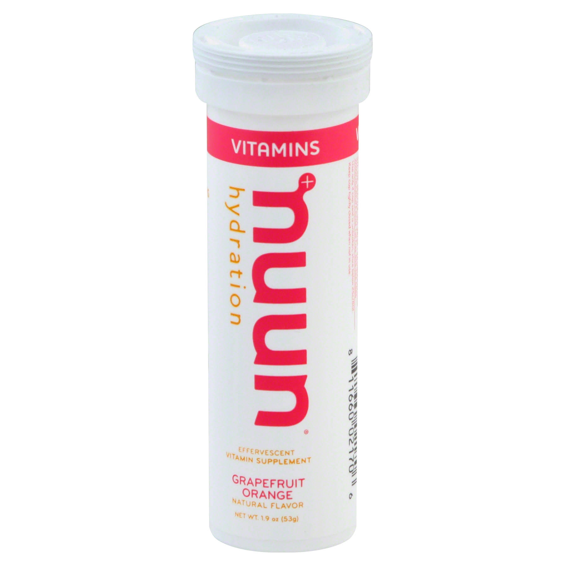 Nuun Hydration Vitamin Energy Supplements Drink Tablet - Grapefruit Orange