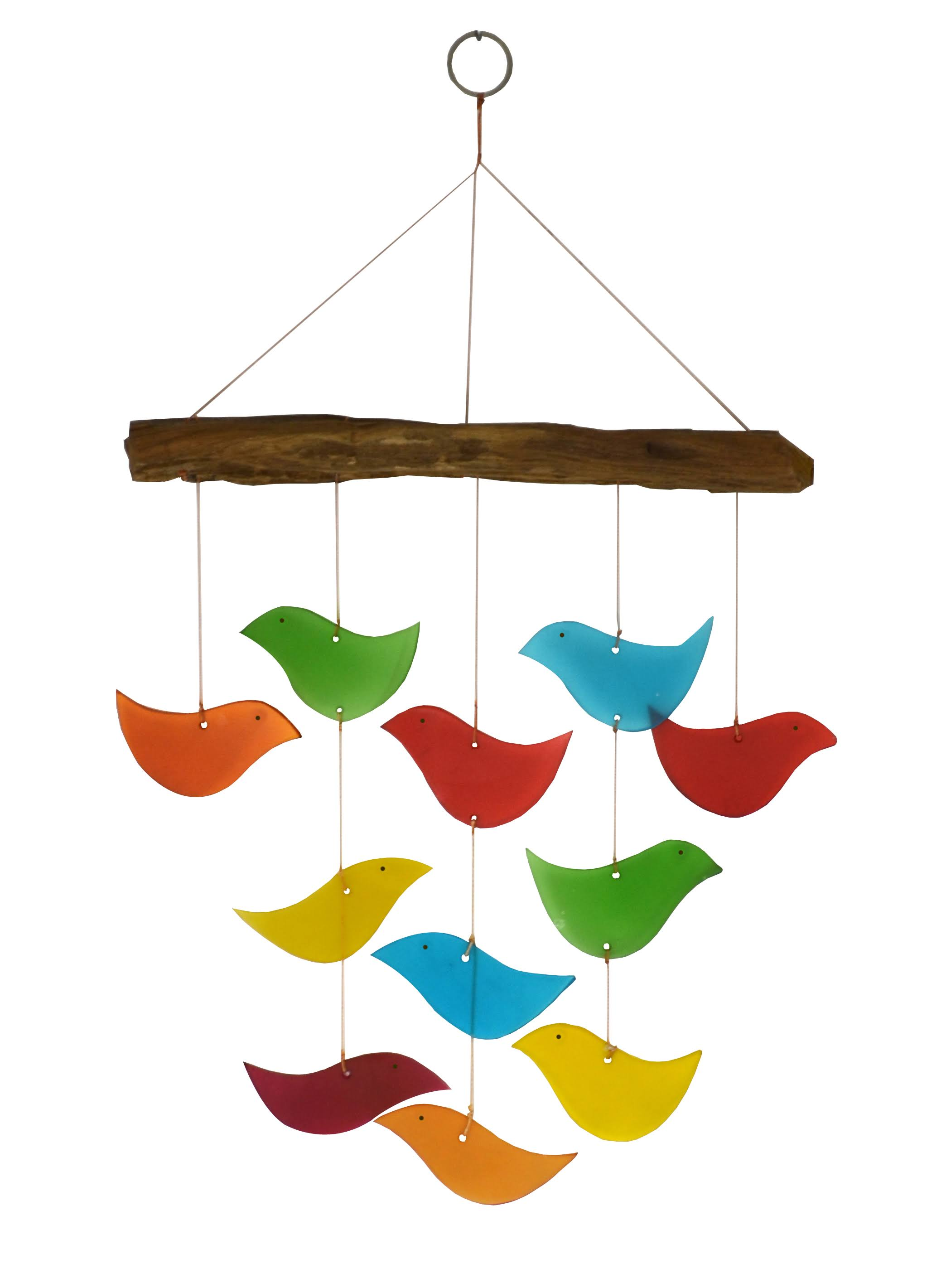 Gift Essentials Bird Driftwood Wind Chime