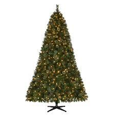 Lifelike Artificial Christmas Trees Canada by Martha Stewart Living 7 5 Ft Pre Lit Led Alexander Pine Quick Set