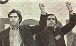 Felipe González y Alfonso Guerra (PSOE)