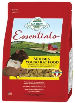 Oxbow Animal Health Essentials Mouse & Young Rat Food