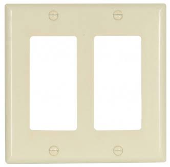 Cooper 2152LA-BOX 2G Wallplate